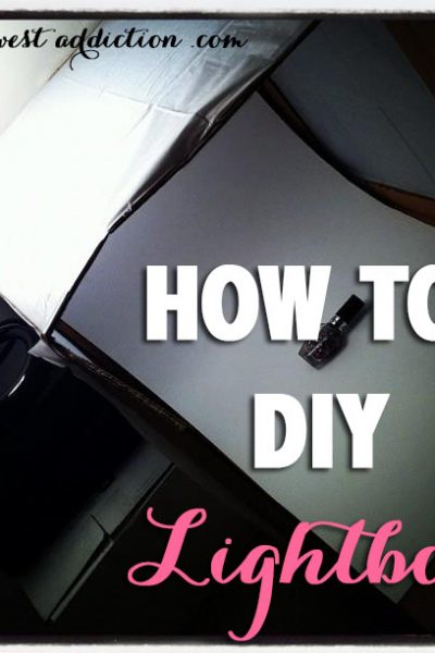 DIY: How To Make a Lightbox