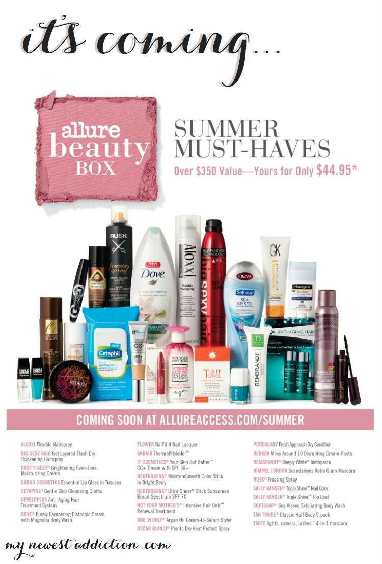 Allure Beauty Box Summer