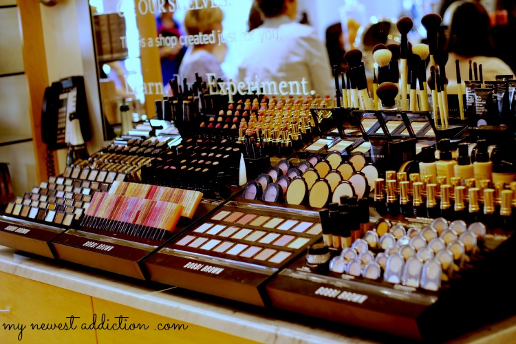 Bobbi Brown counter at Bluemercury
