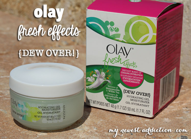 Olay Fresh Effects Dew Over