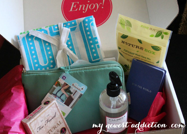 Popsugar Must Have Box Apirl 2014