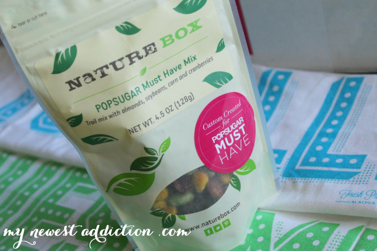 Popsugar Must Have Nature Box Mix