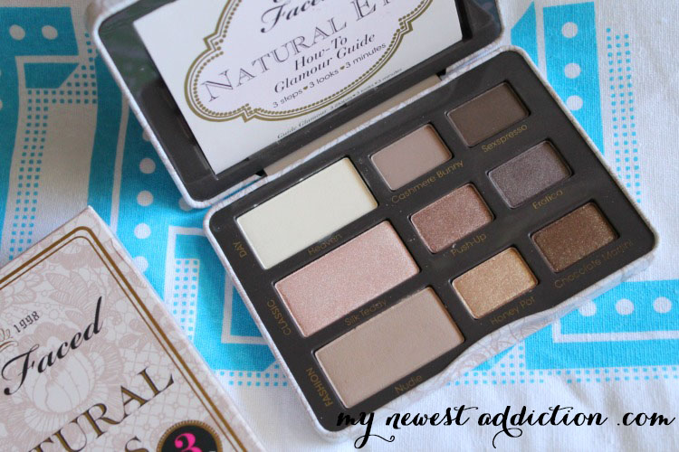 Popsugar Must Have Too Faced Natural Eye Palette