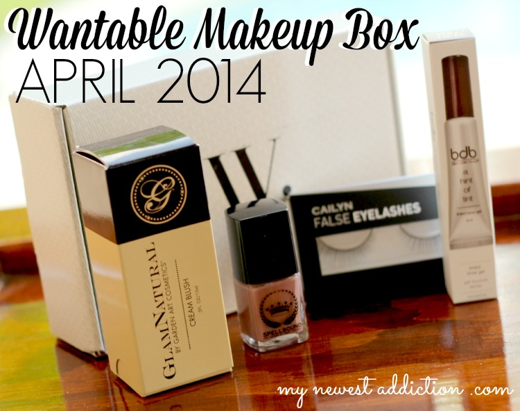 Wantable Makeup Box April 2014