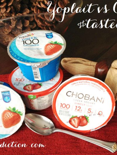 Yoplait vs Chobani Taste-Off