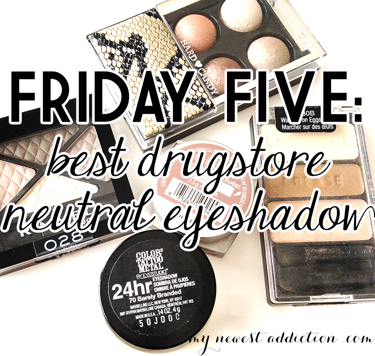 Friday Five eyeshadow