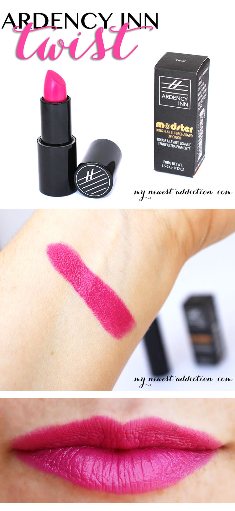 ardency inn modster lipstick twist