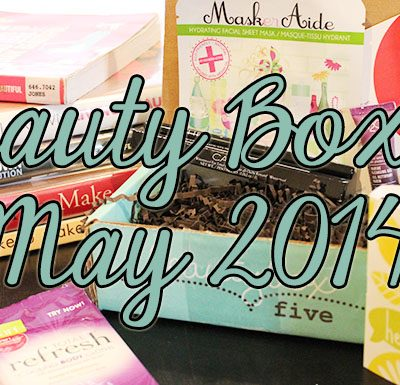 Beauty Box 5 May 2014 Unboxing