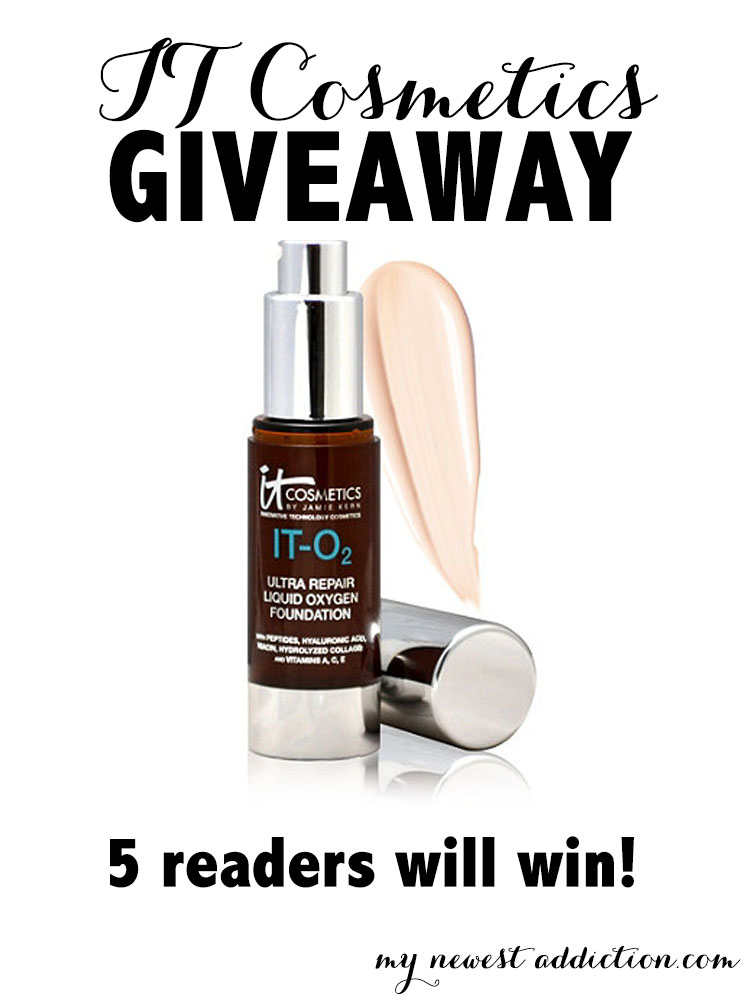 IT Cosmetics Foundation Giveaway