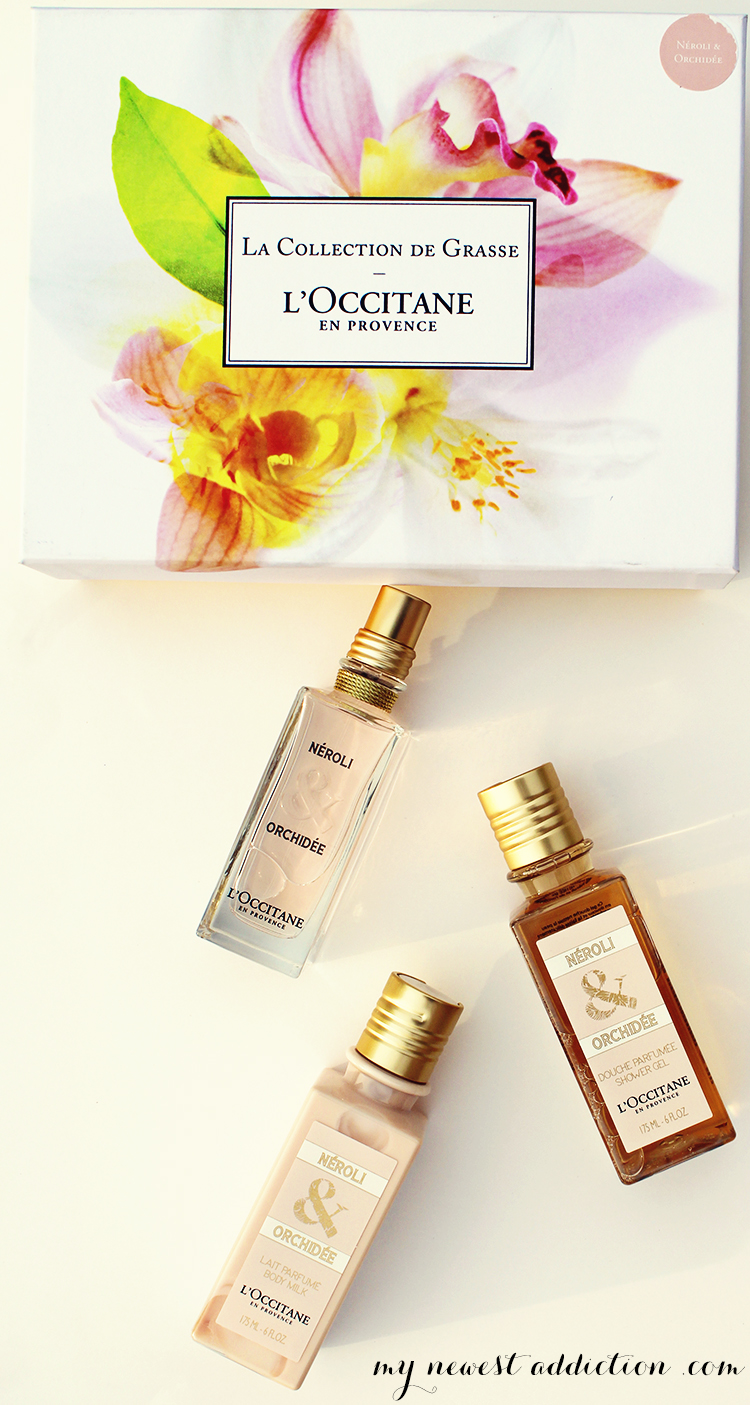 l'occitane neroli and orchidee