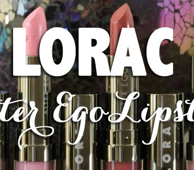 LORAC Alter Ego Lipsticks