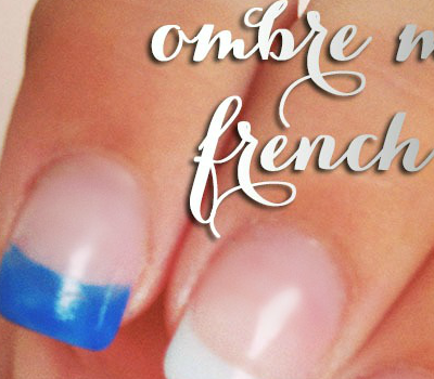 How To: Ombre French Tip Mani