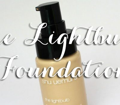 Shu Uemura The Lightbulb Fluid Foundation