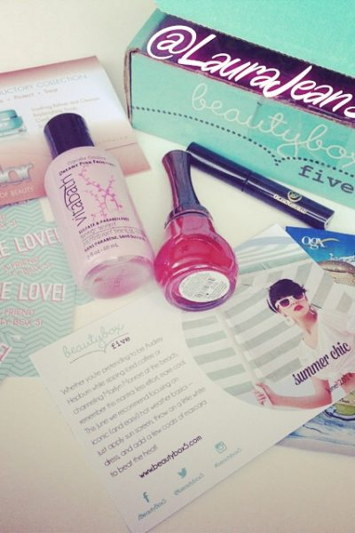 Beauty Box 5 June 2014