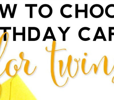 How To Choose Birthday Cards For Twins with Hallmark
