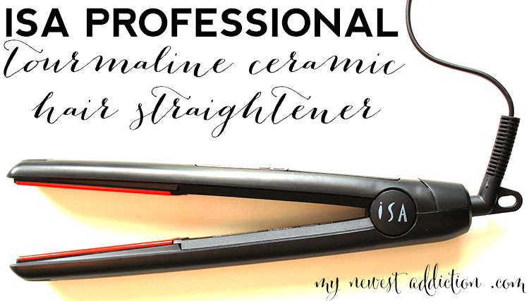 Isa Professional Tourmaline Ceramic Hair Straightener My