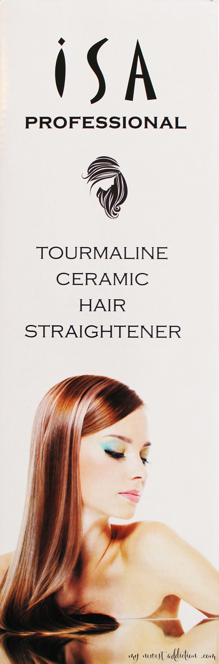 isa tourmaline hair straightener
