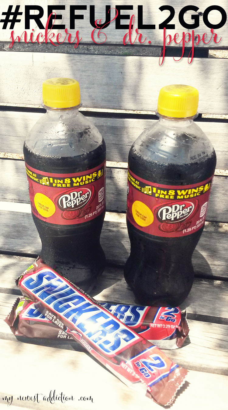 refuel 2 go snickers and dr pepper