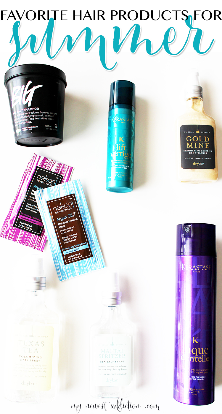 summer hair products