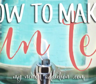 Celebrate Summer: How To Make Sun Tea