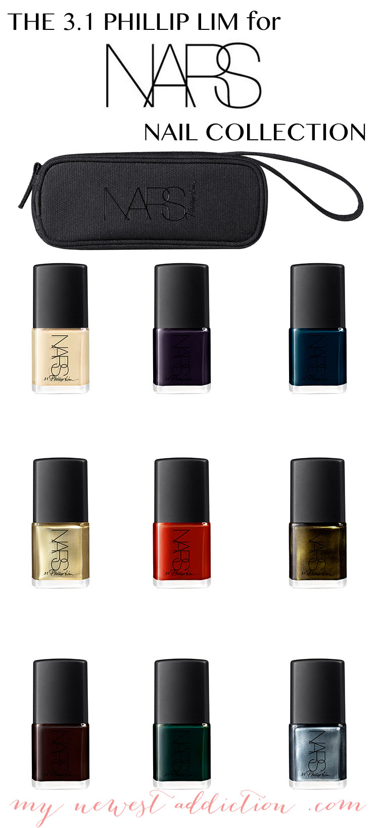 the phillip lim for nars nail collection