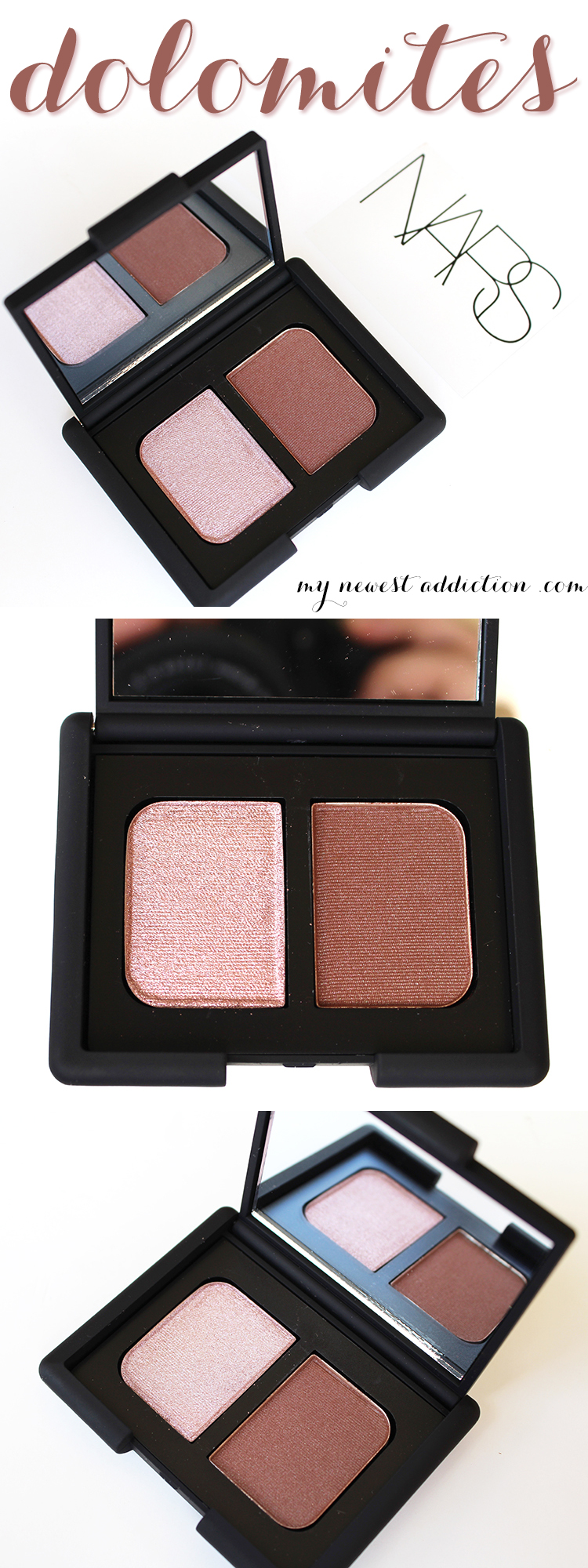NARS Dolomites Eyeshadow Duo