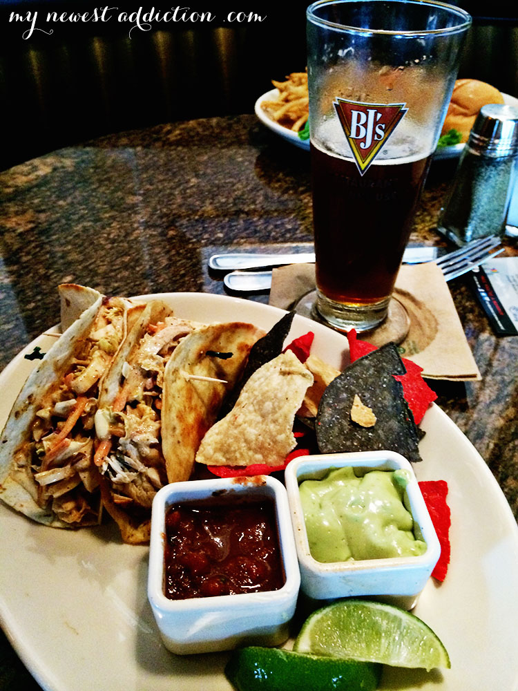 bj's brewhouse fish tacos