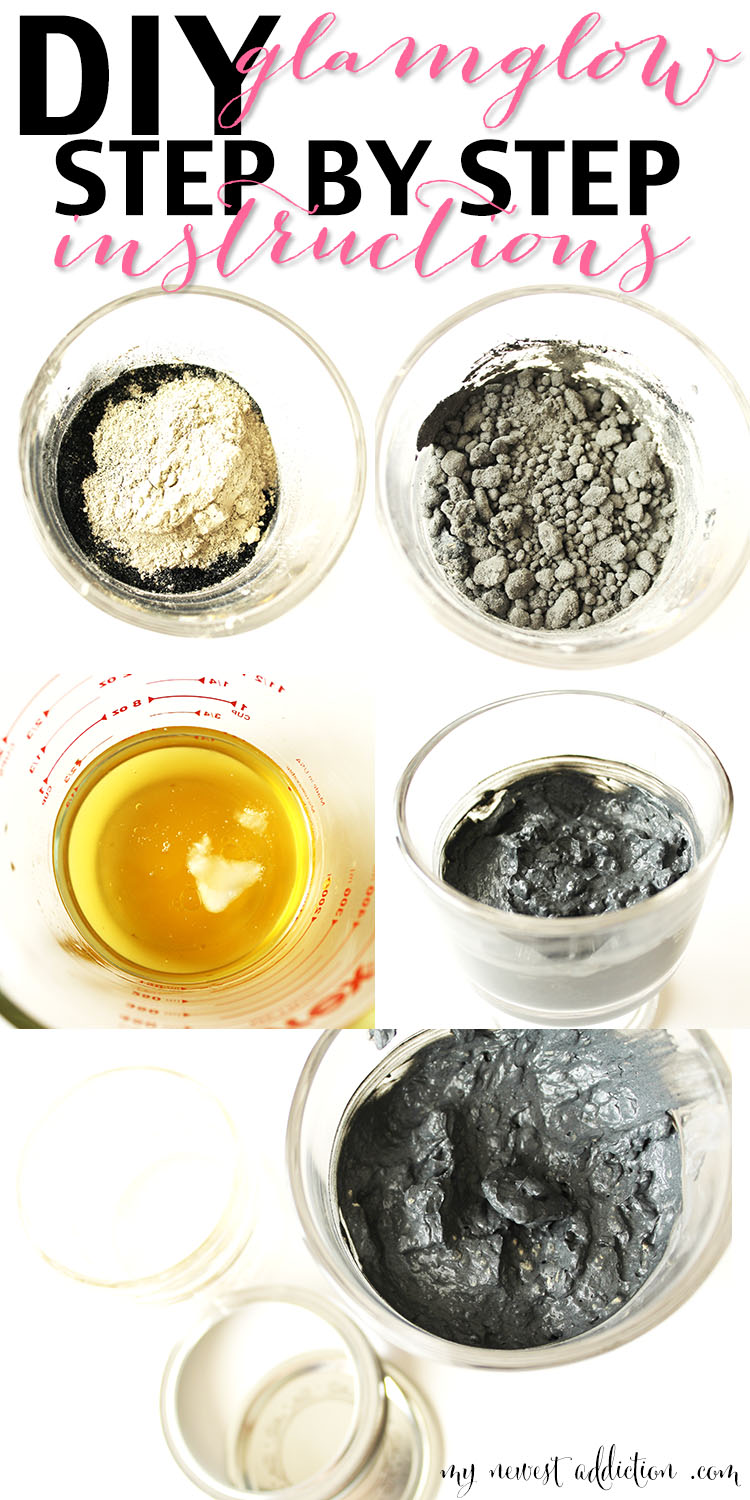 DIY Glamglow Inspired Mask Instructions