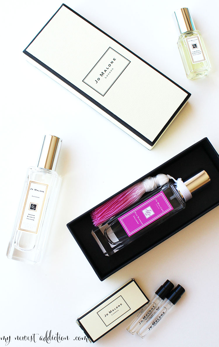 jo malone fragrances