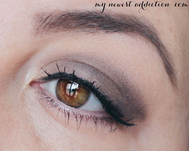 nars smokey eye look