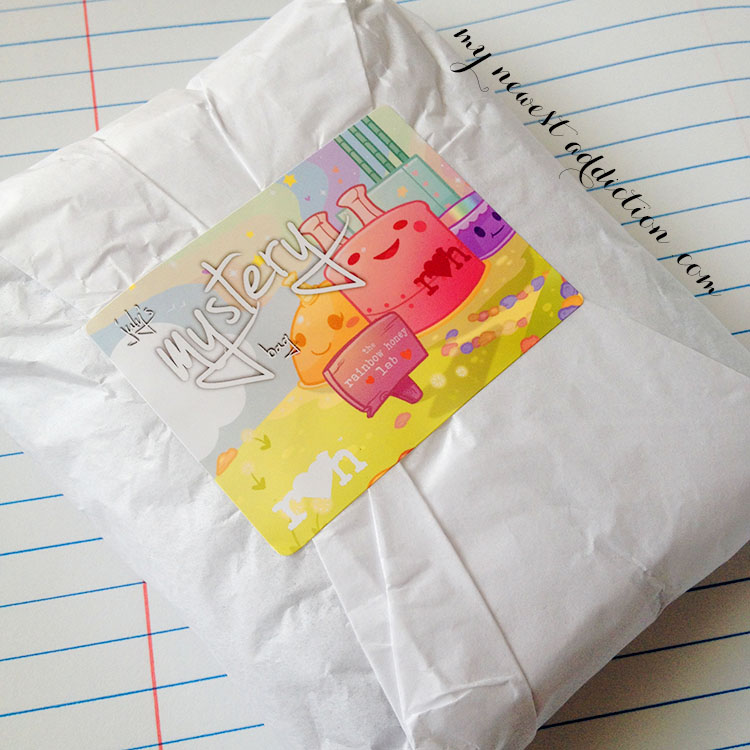 rainbow honey july 2014 mystery bag