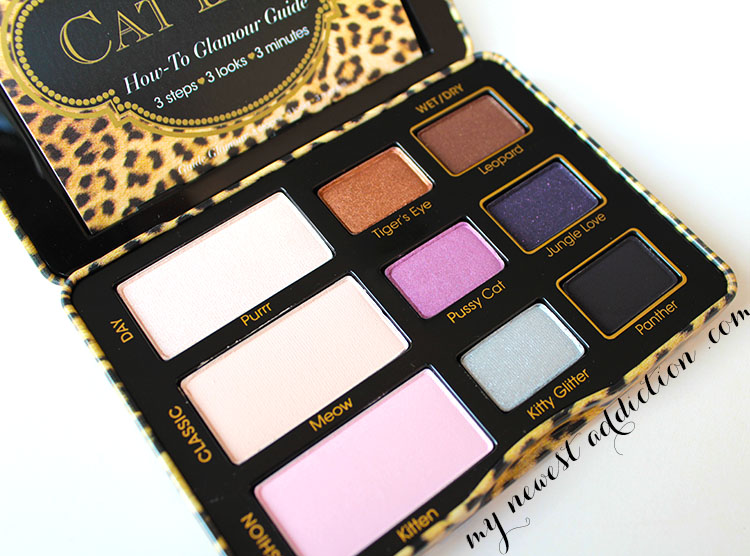 too faced cat eyes palette open