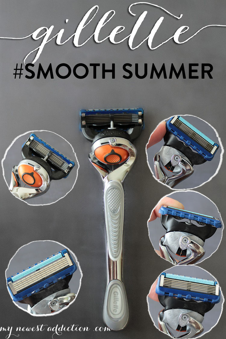 Gillette Flexball Razor #SmoothSummer