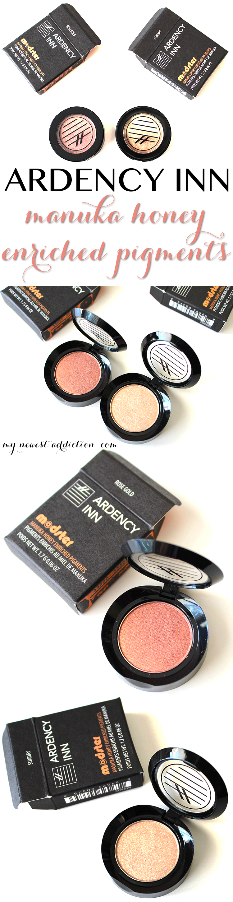 Ardency Inn Manuka Honey Enriched Pigments