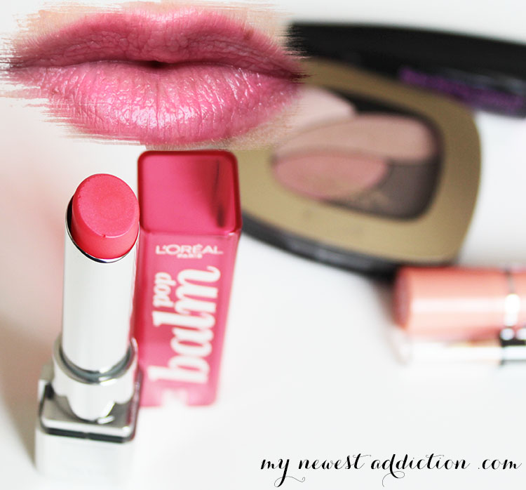 L'Oreal Pop Balm in Electric Pink