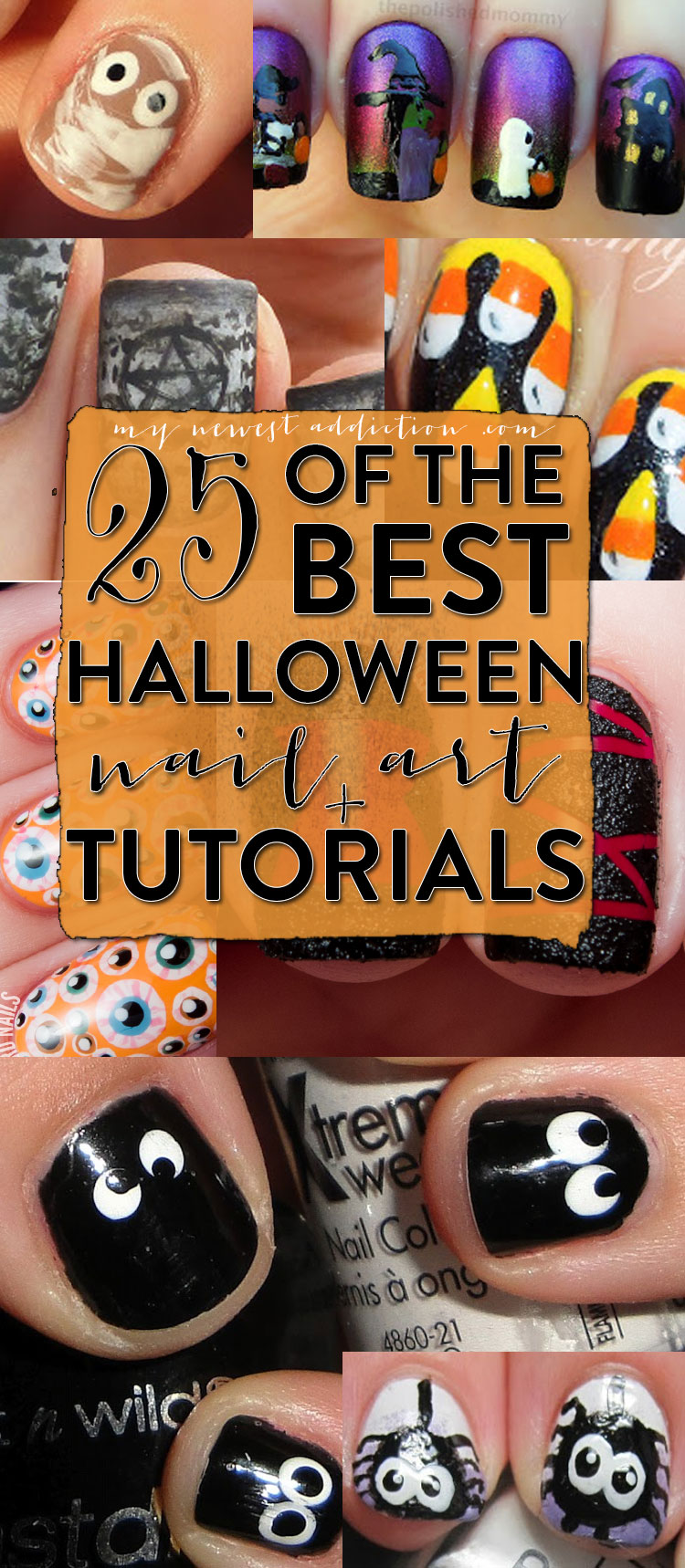 25 Of The Best Halloween Nail Art + Tutorials