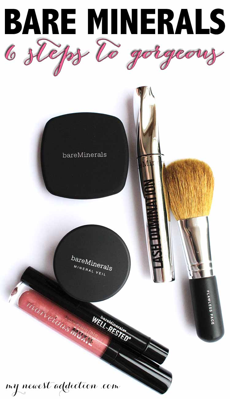 Bare Minerals | 6 Steps To Gorgeous - My Newest Addiction