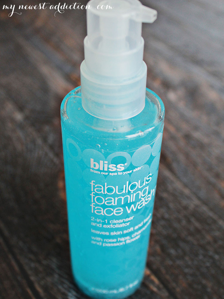 Ulta 21 Days of Beauty | Bliss Fabulous Foaming Facewash