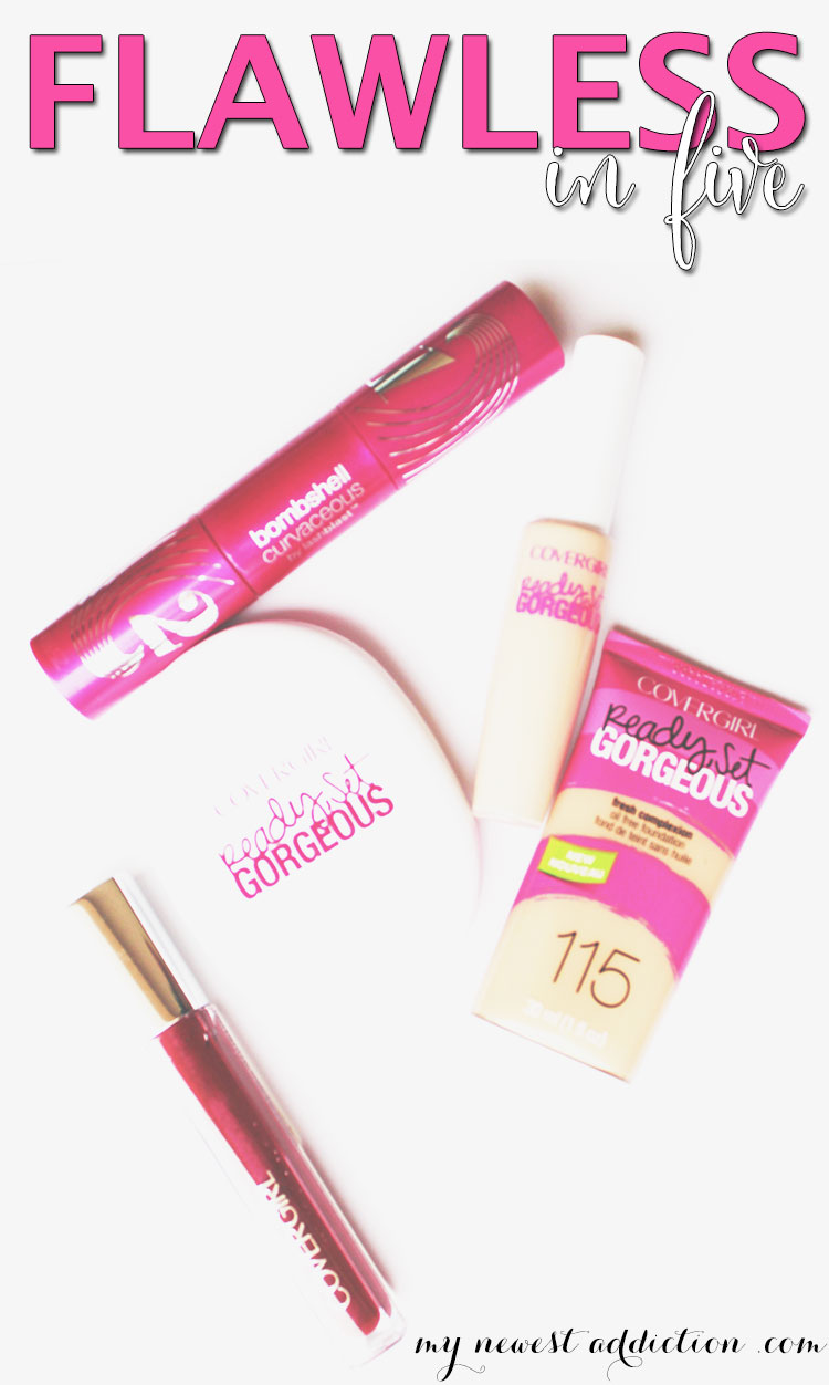 Flawless In Five with Covergirl