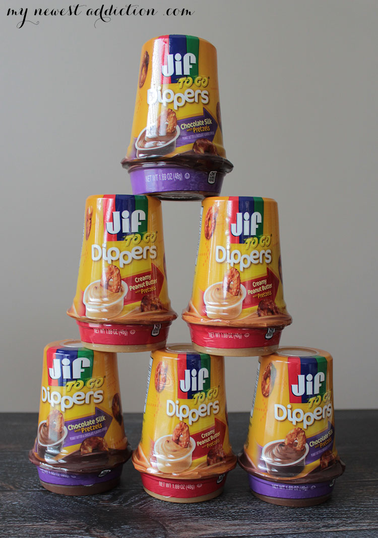 Jif To Go Peanut Butter and Chocolate Pyramid