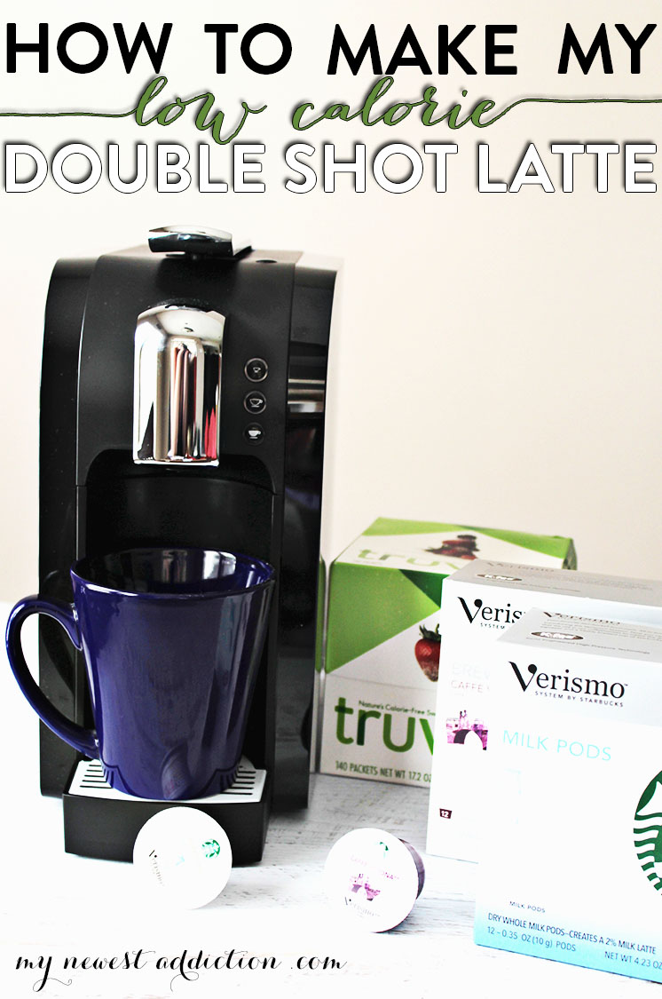 How To Make My Double Shot Latte with Starbucks Verismo from Staples