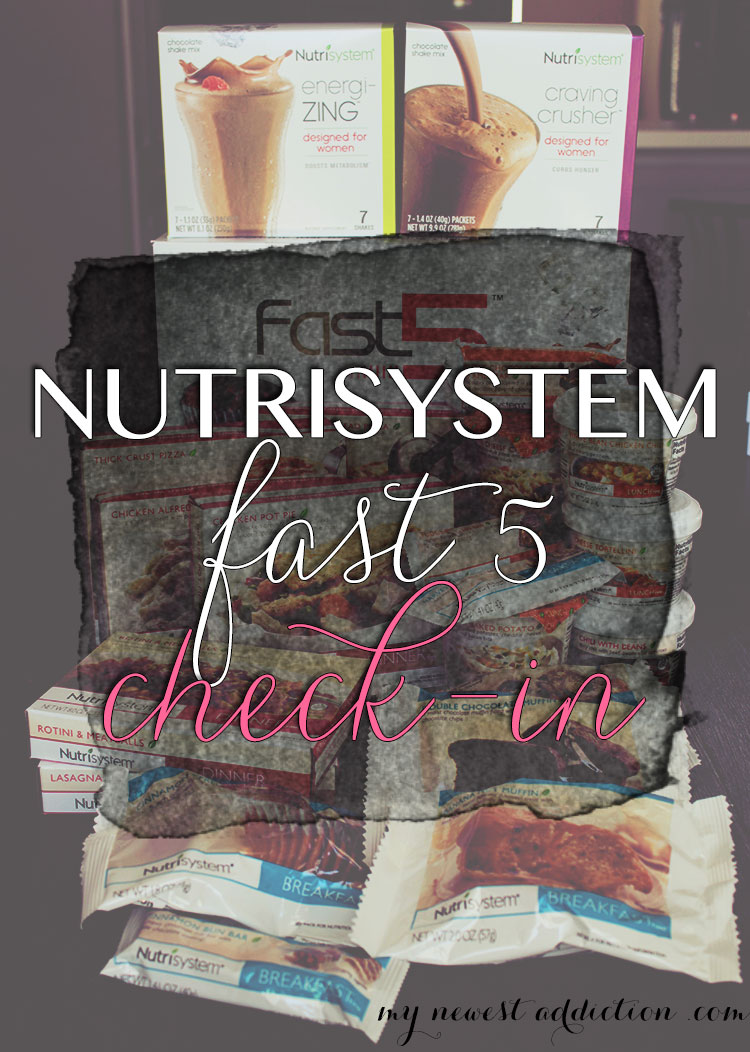 Nutrisystem Fast 5 Check In
