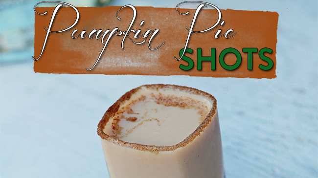 pumpkin pie shot slider