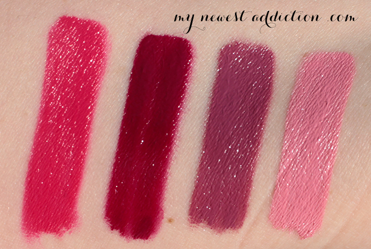 Too Faced Melted Swatches