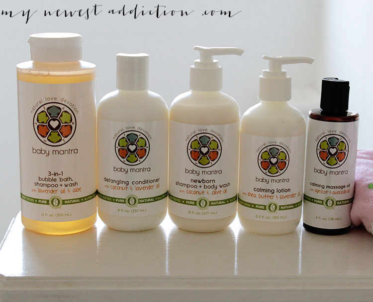 Baby Mantra Bath and Body Products