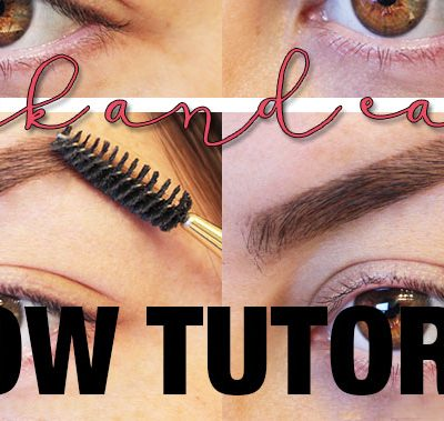 Quick and Easy Brow Tutorial