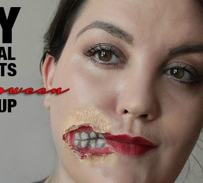 DIY Special Effects Halloween Makeup and Easy Removal