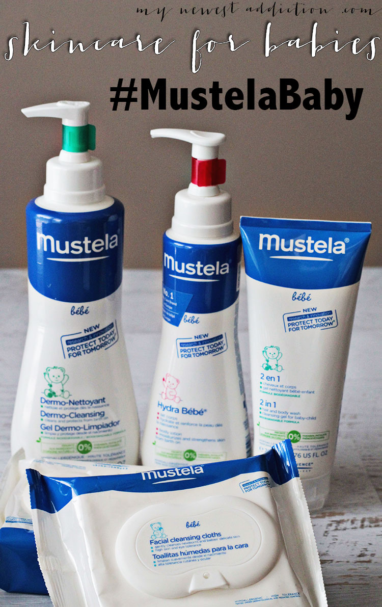 Skincare for Babies by Mustela #MustelaBaby #MC #sponsored