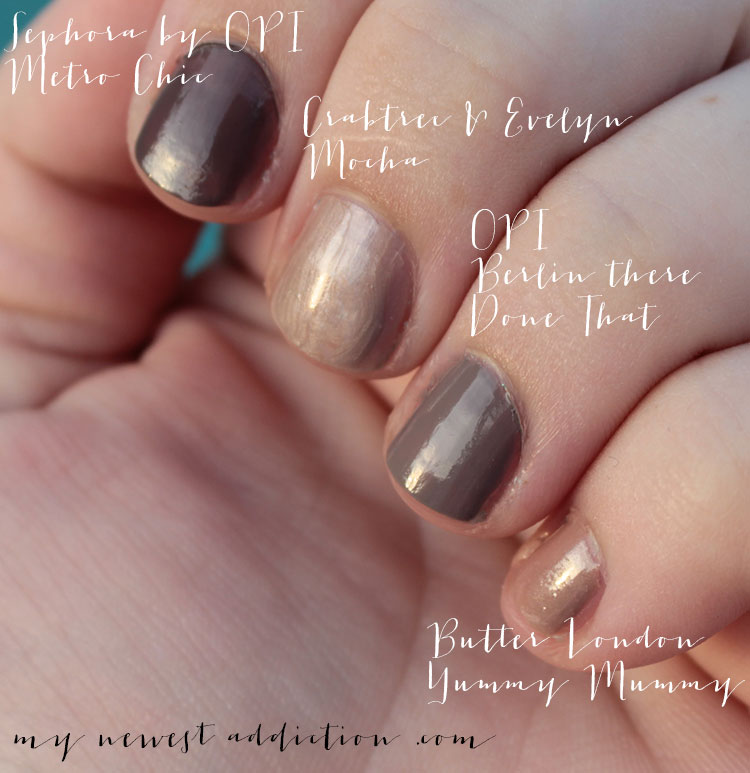 The Best Taupe Nail Polish