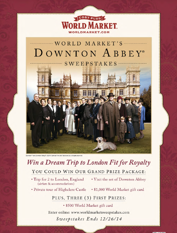 Downtown Abbey Sweeps